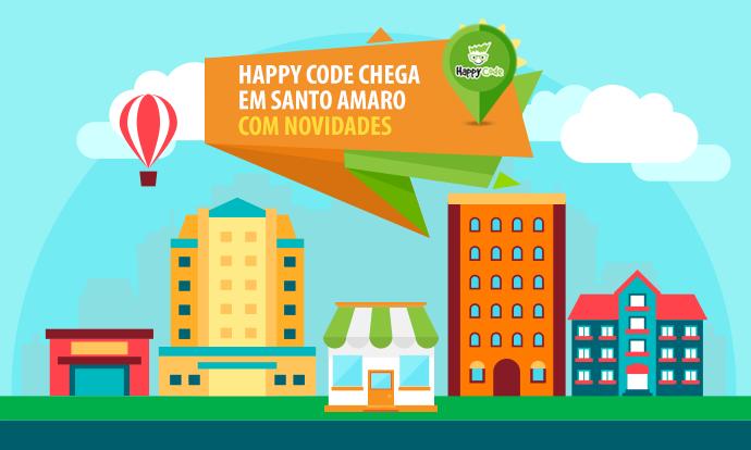 Happy Code chega em Santo Amaro com novos cursos de inovação e tecnologia