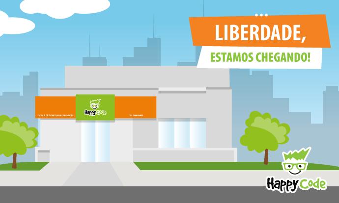 Happy Code inaugura unidade no bairro da Liberdade – SP