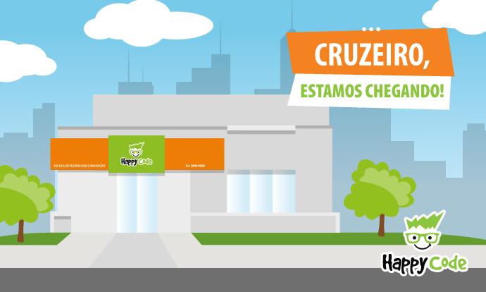 Happy Code continua em expansão e chega em breve a Cruzeiro-SP com os melhores cursos de tecnologia e inovação