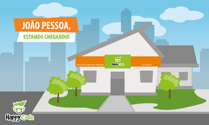 Happy Code continua em expansão e chega em breve a João Pessoa com os melhores cursos de tecnologia e inovação