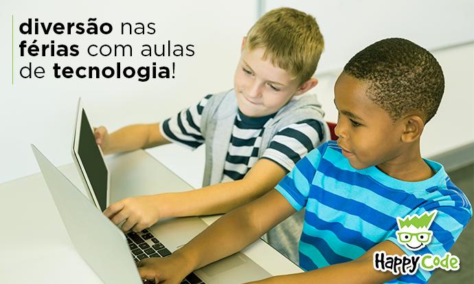 Diversão nas Férias com Aulas de Tecnologia