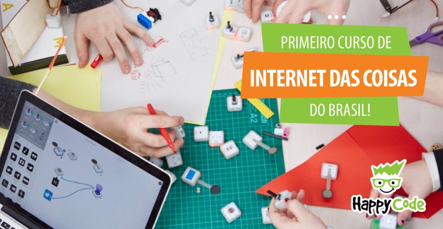 Primeiro curso de Internet das Coisas para crianças no Brasil