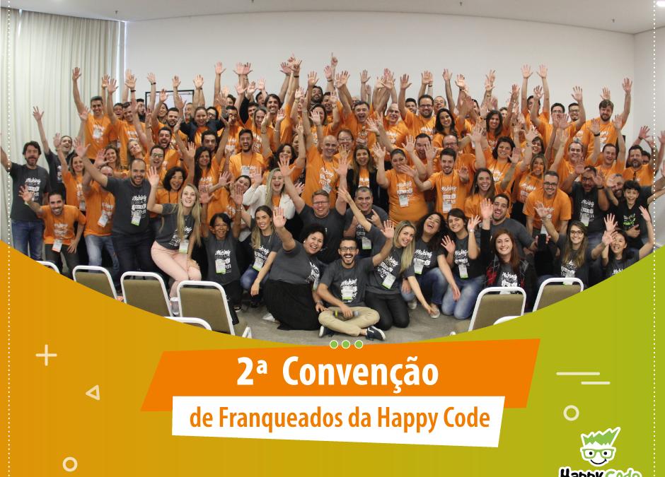 2ª Convenção de Franqueados Happy Code foi um sucesso!