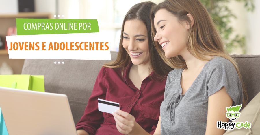 Compras na internet por jovens e adolescentes