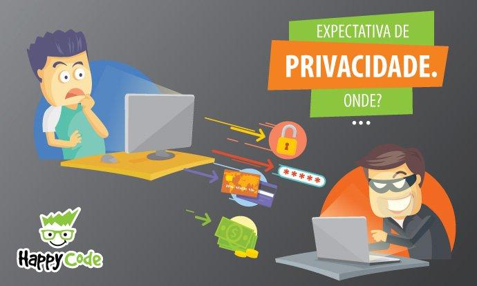 EXPECTATIVA DE PRIVACIDADE, ONDE?
