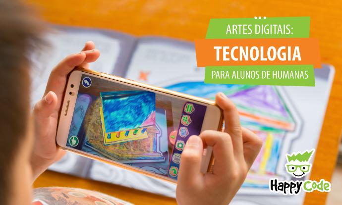 Artes digitais são opção tecnológica para alunos de humanas