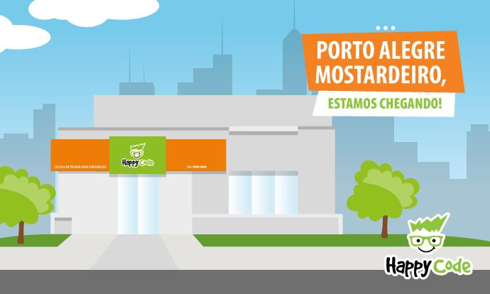 Happy Code continua em expansão e chega em breve a Mostardeiro, Porto Alegre – RS com os melhores cursos de tecnologia e inovação