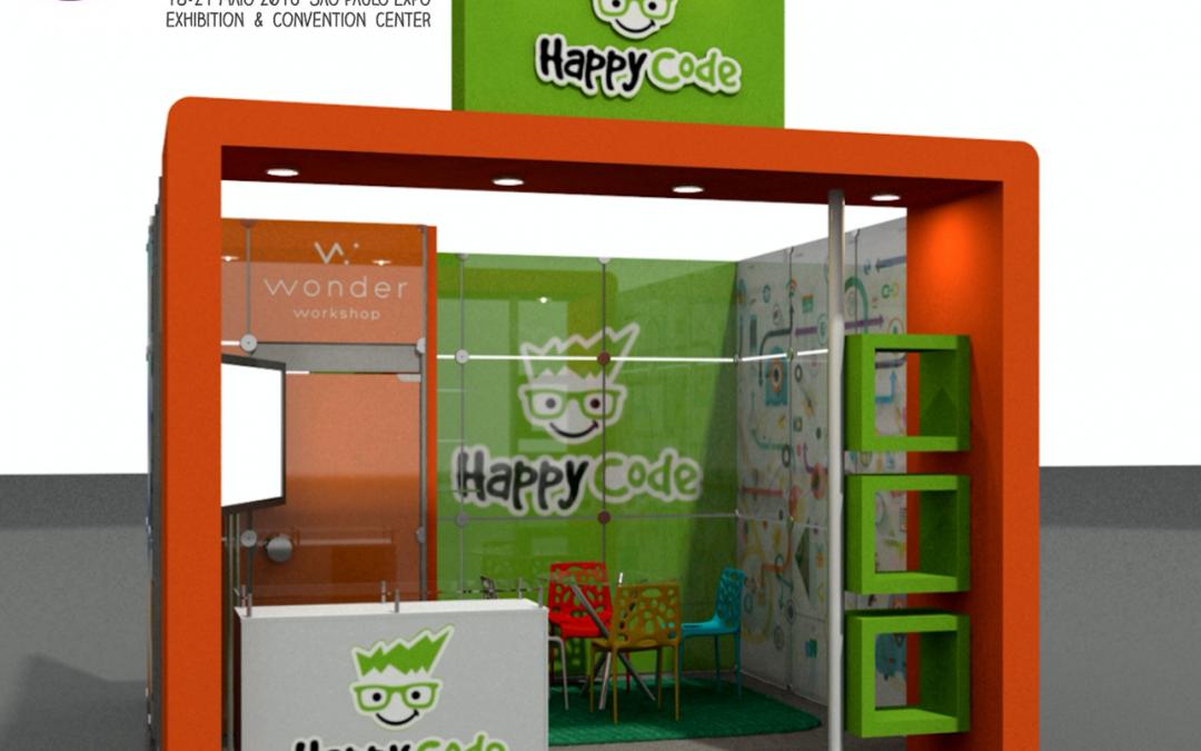 Happy Code participa da maior feira de educação e tecnologia do mundo