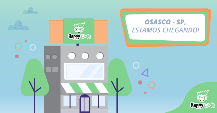 Happy Code continua em expansão e chega em breve a Osasco, com os melhores cursos de tecnologia e inovação