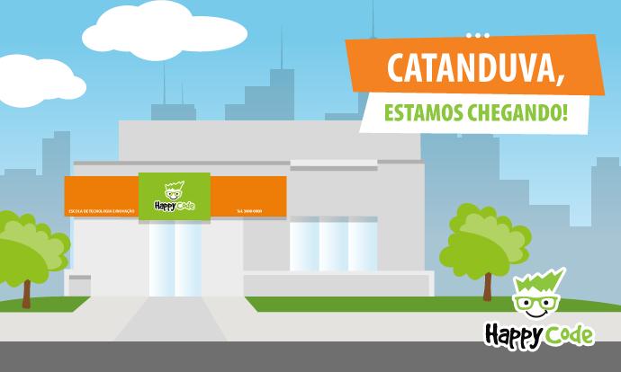 Happy Code continua em expansão e chega em breve a Catanduva, com os melhores cursos de tecnologia e inovação
