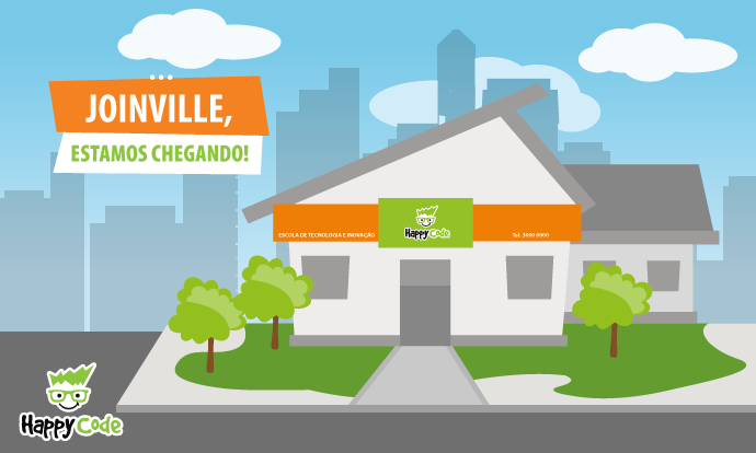 Happy Code continua em expansão e chega em breve a Joinville, com os melhores cursos de tecnologia e inovação